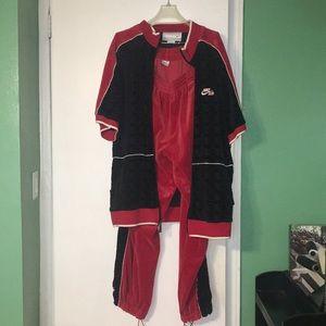Nike Velour Suit